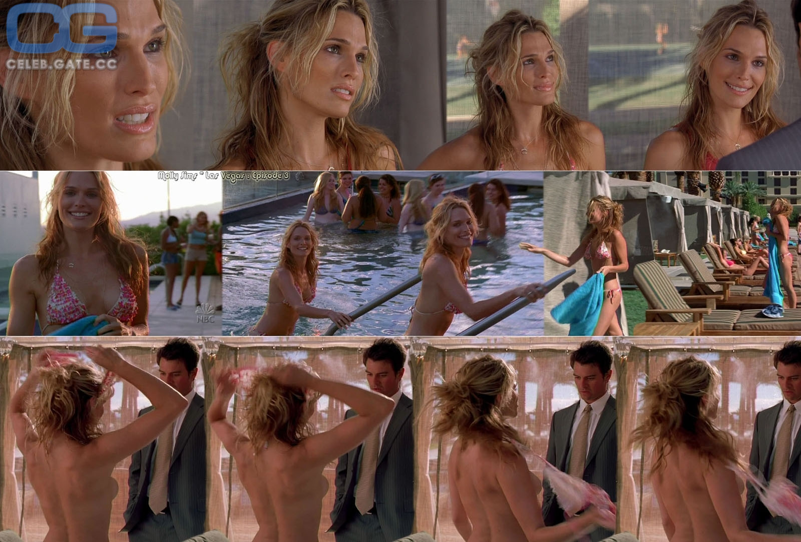 Molly Sims / Nude foto 2