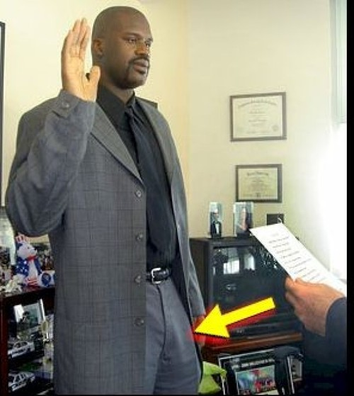 Shaquille Oneal Nackt foto 1