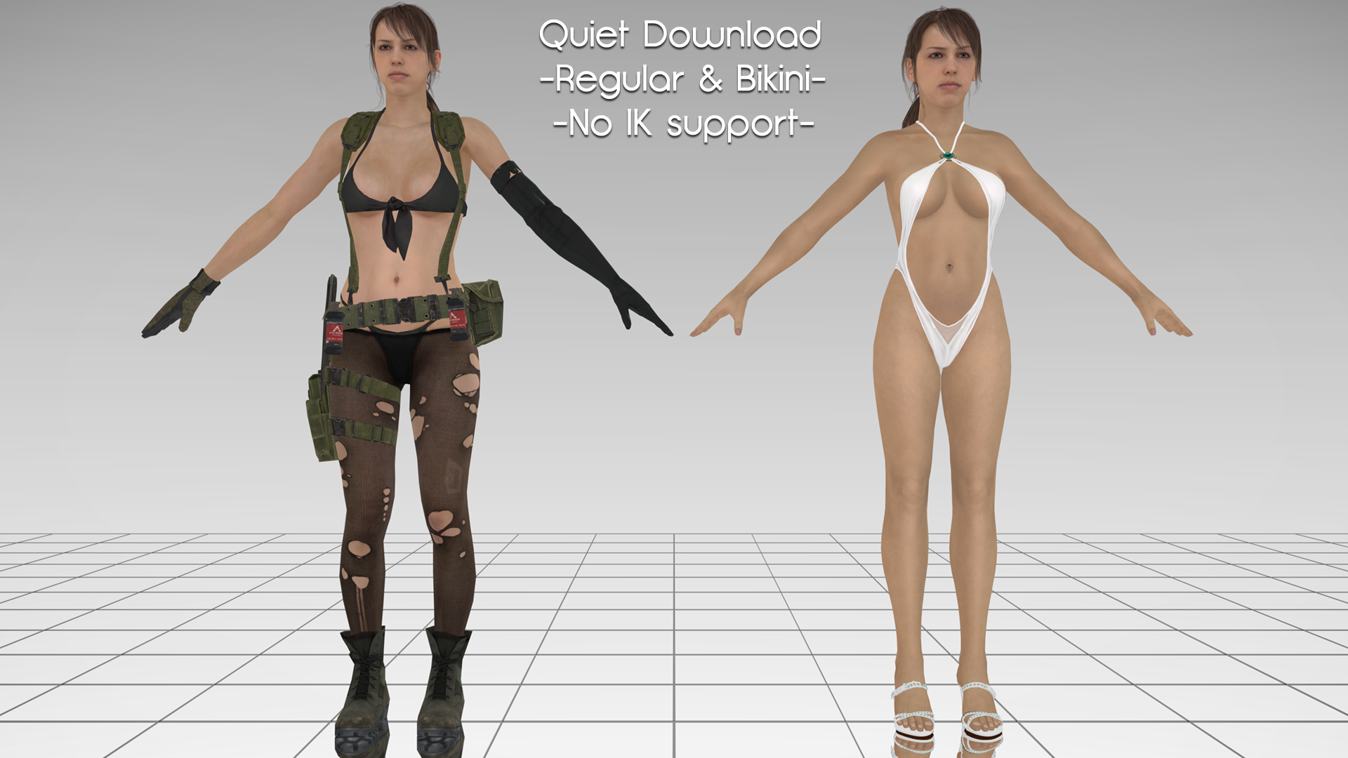Mgs V Quiet Nude Mod