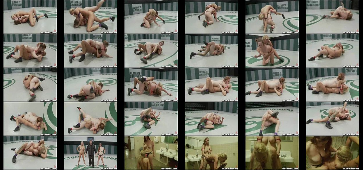 Big Titted Naked Blond Get Her Ass Kicked, Then Fucked Hard foto 1